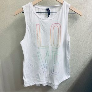 🌈 L O V E 🌈 Betsey Johnson Tank Top